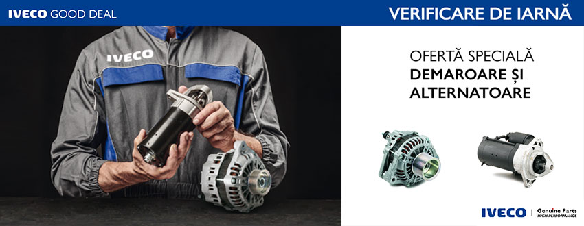 IVECO Good Deal - Demaroare & alternatoare