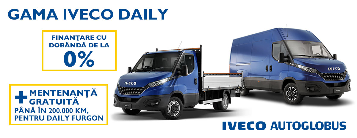 Campanie gama Iveco Daily